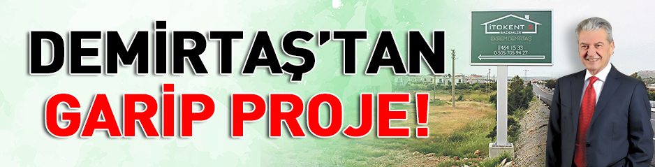 'Bir garip proje'