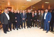 Başkan Cirit onuruna akşam yemeği