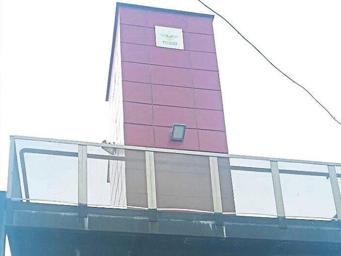 'HİZMET DIŞI' asansör