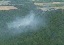 Çanakkaledeki orman yangını korkuttu