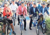 Başkanlar İzmir için pedal bastı