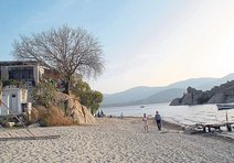 Bafa Gölü'nde doğa ve tarih iç içe