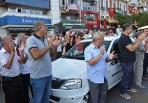 Taksi dolmuşçulardan güzergah eylemi