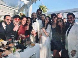 Sarp'ın düğünü ünlüleri buluşturdu
