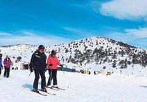 Ege'de kış sporunun MERKEZİ BOZDAĞ
