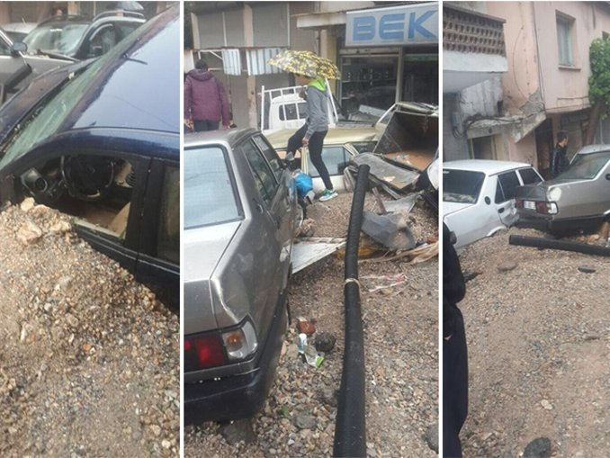 İzmirde sel felaketi