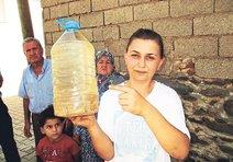 İzmirde musluklardan çamur akıyor