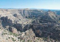 Saklı cennet Ulubey Kanyonları