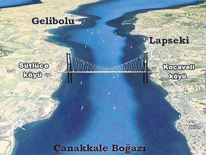 Çanakkale Köprüsü ihalesi 26 Ocak'ta