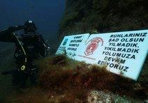 18 Mart için 18 itfaiye dalgıcı 18 metreye daldı