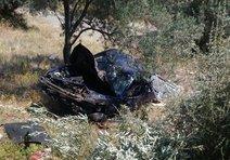Balıkesirde otomobil devrildi: 1 ölü