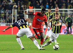 Göztepe'nin Fenerbahçe'ye gücü yetmedi