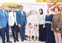 Vekil Özkan'ın mutlu günü