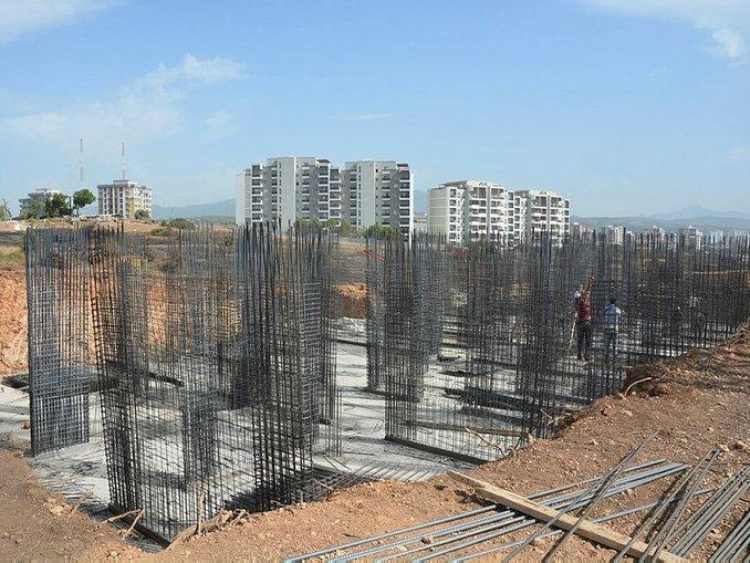 İzmirdeki TOKİ projesi çalışmaları sürüyor