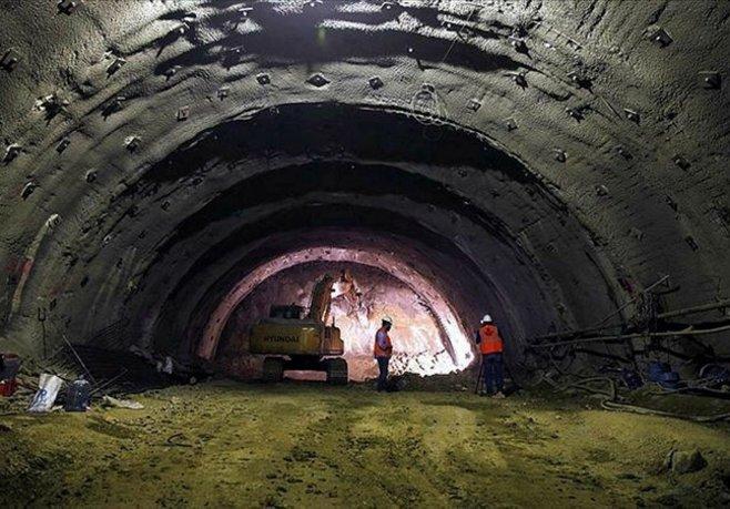 Sabuncubeli Tünelinde ışık 9 Eylülde görünecek