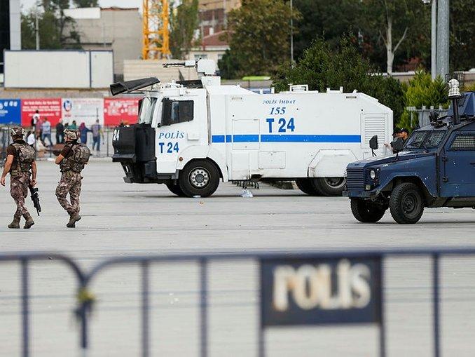İstanbul Adliyesinde çatışma