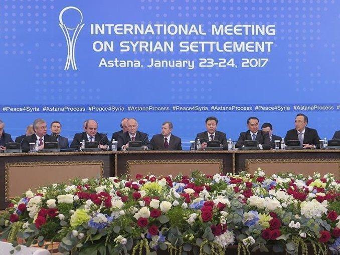 Suriye konulu Astana toplantısı başladı