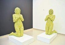 Ekol Sanat'ta resim ve heykel birlikteliği