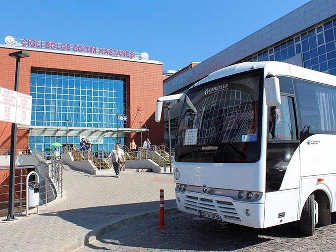 Karşıyaka'da eskiden, yeni hastaneye sağlık servisi