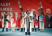 Demokrasi nöbetine İzmirdeki rektörlerden destek