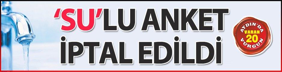 SULU ANKET İPTAL!