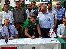 Denizlispor'da imza şov