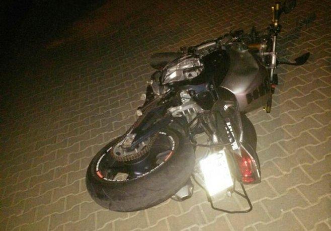 Aydında motosiklet devrildi: 2 ölü