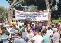 Aydın'da afiş krizi