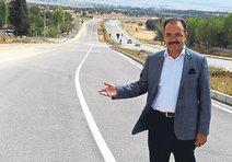 163 bin ton asfalt Uşak yollarında