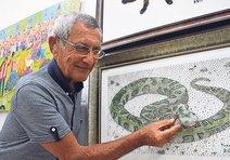 78 bin toplu iğneyle yılan!