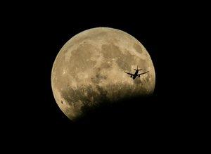 'Parçalı ay tutulması'ndan kareler