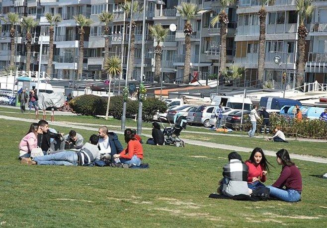 İzmirde yalancı bahara dikkat!